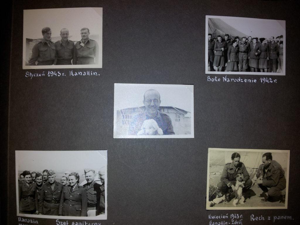 Zdjęcia z żołnierzami Dr. Major Wacław Kessling Podpułkownik Dr. Wacław Kessling – Lekarz- 5 Kresowa Dywizja Piechoty