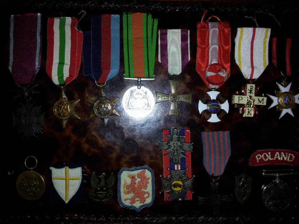 Medale Dr. Major Wacław Kessling